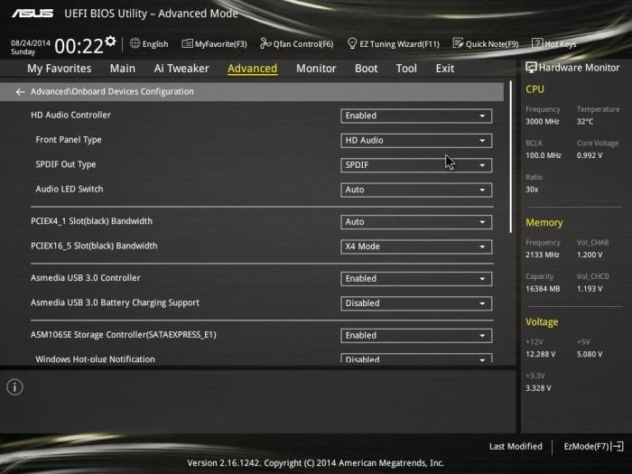 X99 Deluxe BIOS 32