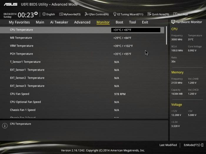 X99 Deluxe BIOS 36