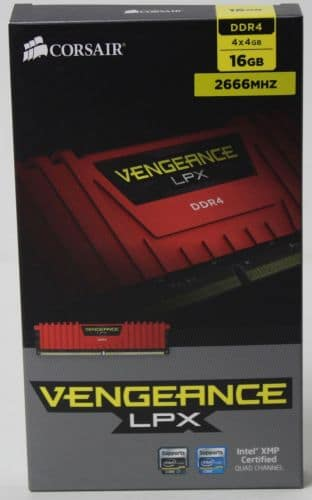 Corsair Vengeance DDR4 2666 16GB 1