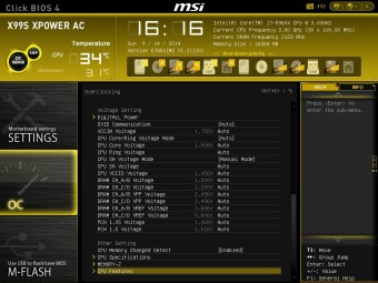 MSI X99S XPOWER BIOS 11