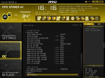 MSI X99S XPOWER BIOS 11
