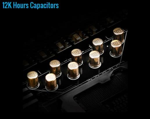 12K hour Capacitors