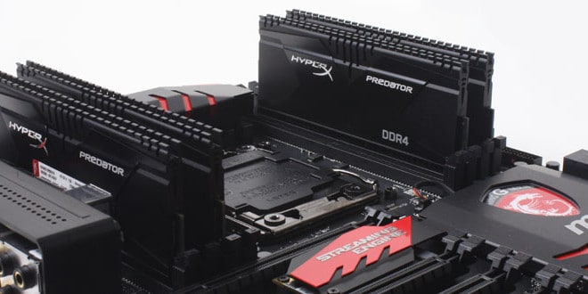 Kingston Hyperx Predator Predator Ddr4 3000mhz Putting