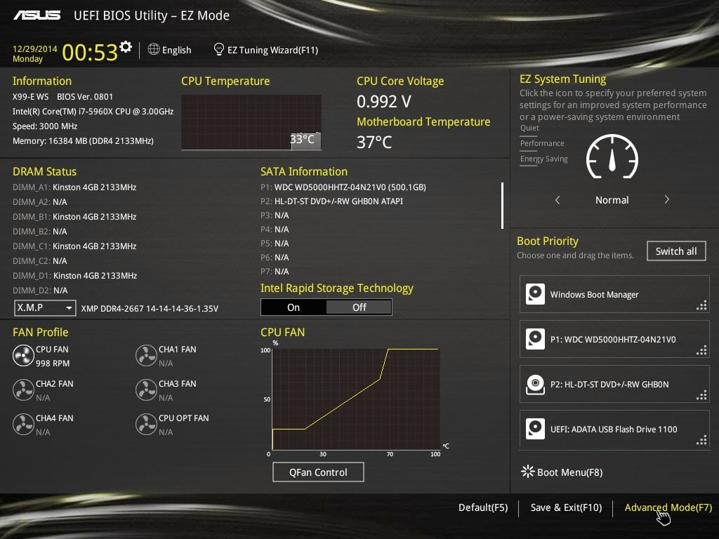 ASUS X99-E WS Motherboard - Workstation Durability and