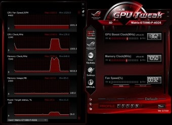 GPU Tweak Gamer profile