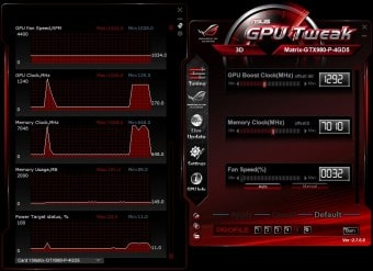 GPU Tweak power save profile