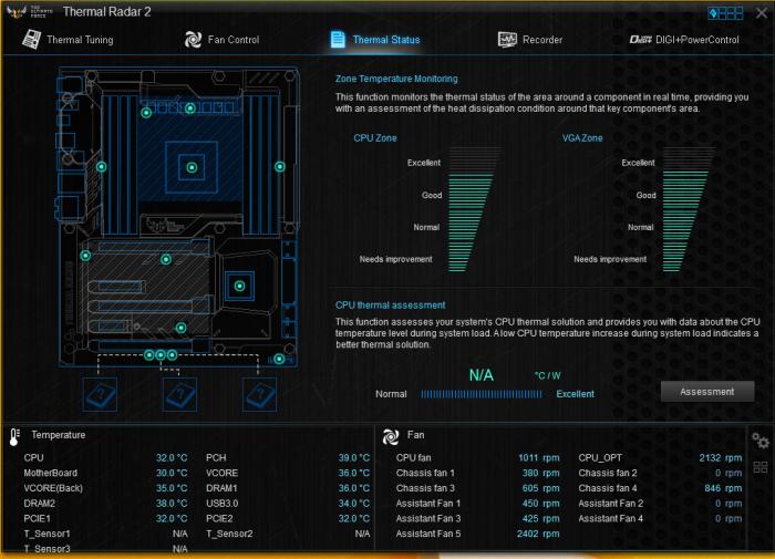 AI Suite 3_Thermal status 5