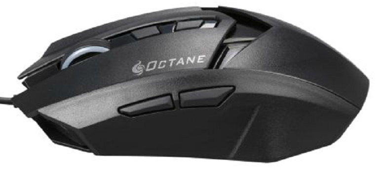 75adf68f2fb The Octane MS35 Mouse has the standard two keys on top (left and  right-click), the mouse wheel which acts as the third key, and has a rubber  wraparound for ...
