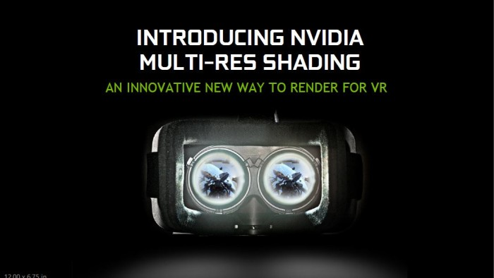VR Multi Res Shading