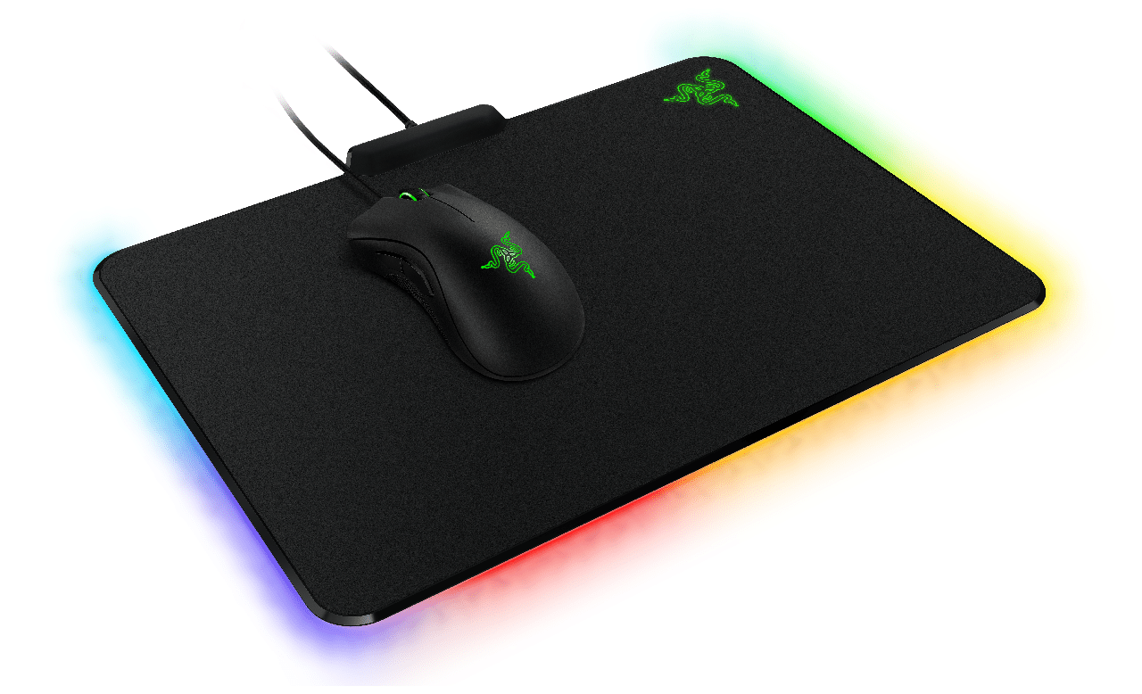 2a72c4c25f9 Pictured with the Death Adder Chroma the Razer FireFly Hard Gaming Mouse  Mat compliments the Death Adder and using Razer Synapse Software which  unifies the ...