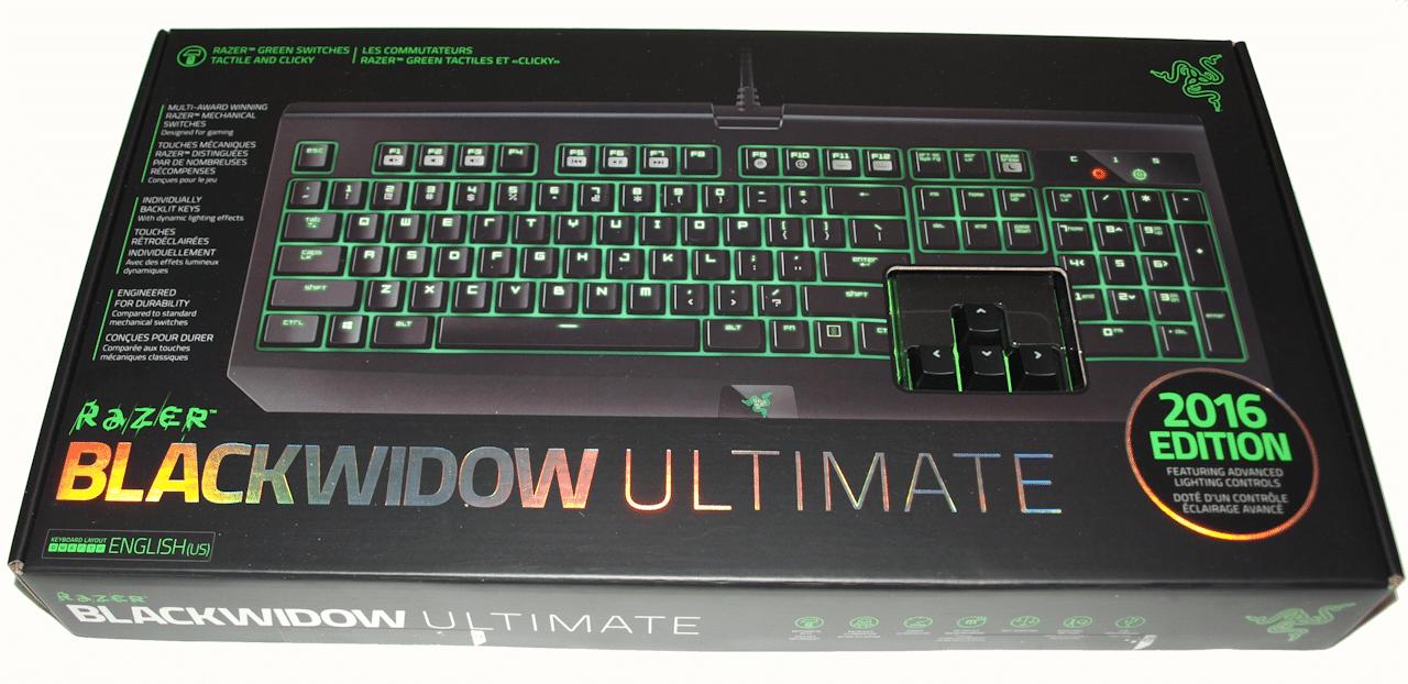 Razer Blackwidow Ultimate 2016 Edition Bjorn3d Com