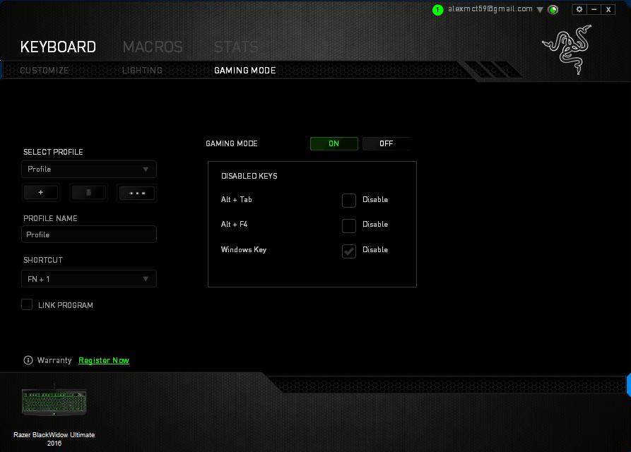 how to delete overwatch preset lighting razer