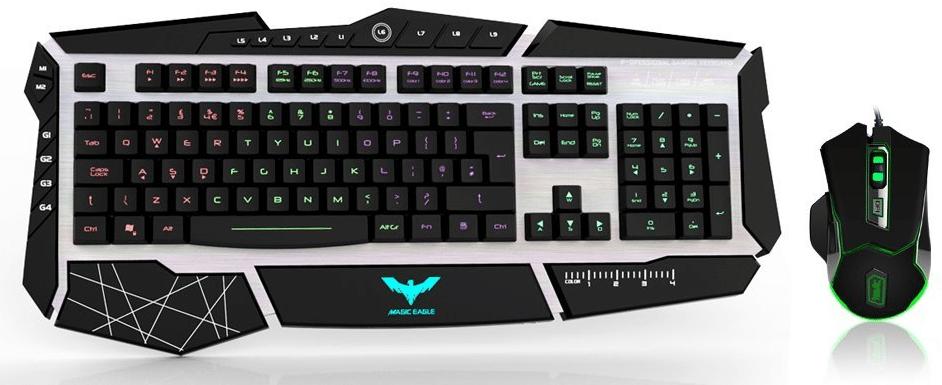 Havit Lammergeier Rbg Gaming Keyboard And Mouse Combo Set Bjorn3d Com
