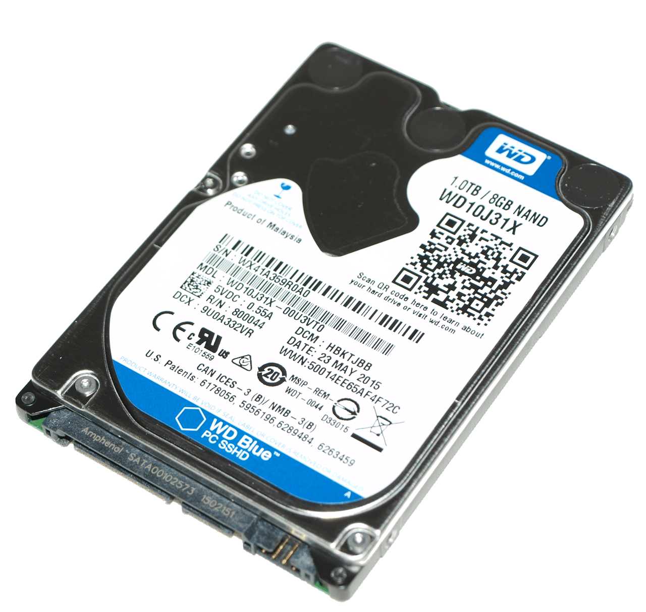 Western Digital Blue 1TB 2 5