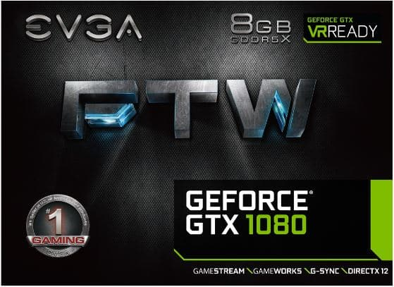 EVGA GeForce GTX 1080 FTW GAMING ACX 3 0 - Bjorn3D com
