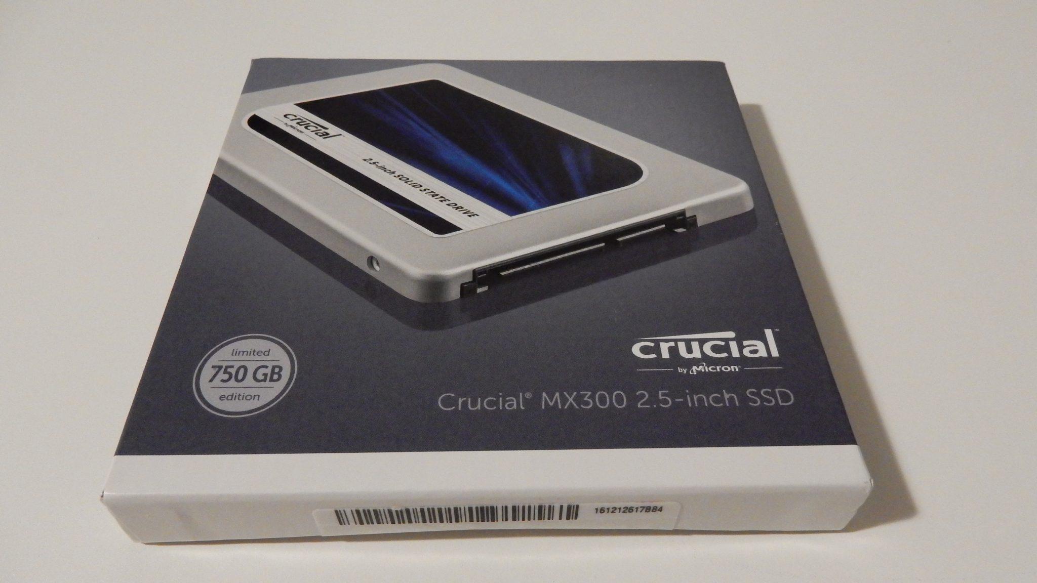 Crucial MX300 SSD (750GB) - Bjorn3D.com