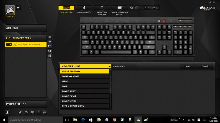 lighting-menu