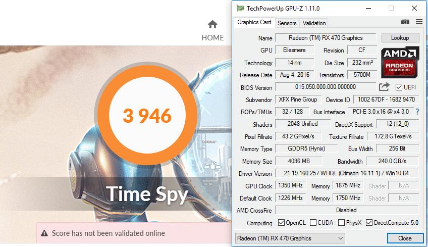 XFX Radeon RX 470 RS 4GB Hard Swap Triple X Review - Page 7