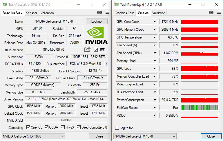 EVGA GeForce GTX 1070 SC2 Gaming iCX Review (08G‑P4‑6573‑KR