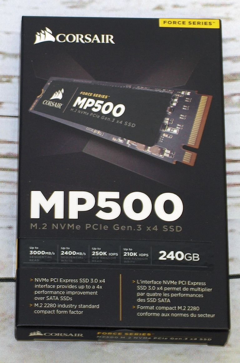 NEW Corsair Force Series MP500 120GB M.2 NVMe PCIe Gen 3 x4 SSD