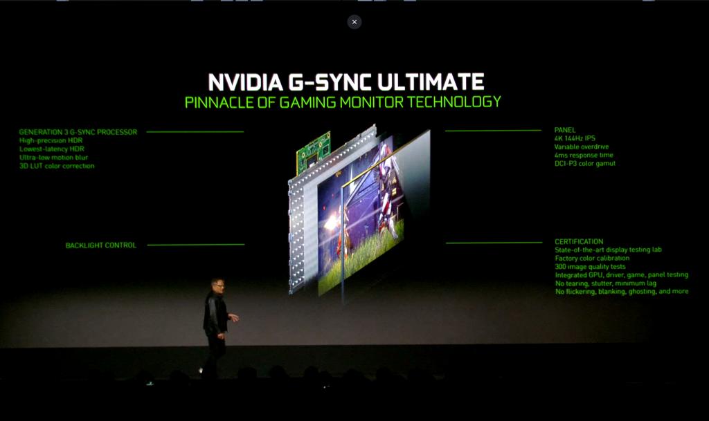 Nvidia Announcement at CES 2019: RTX 2060, Adaptive Sync